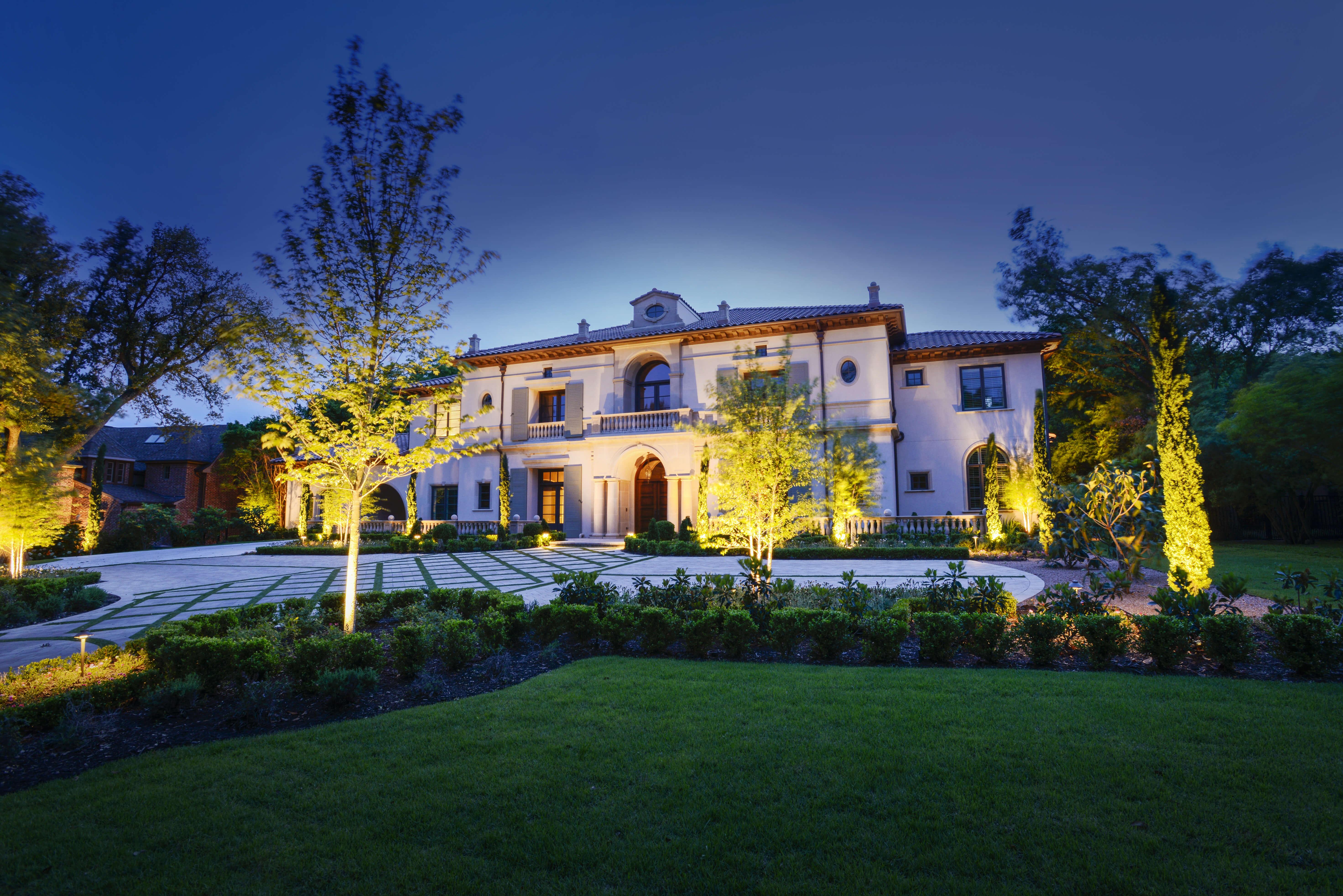 Landscape lighting landmark design company aloadofball Images