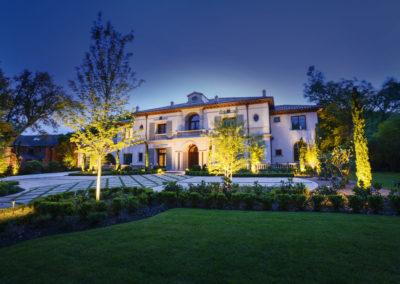 Landmark Design Company Landscape Lighting
